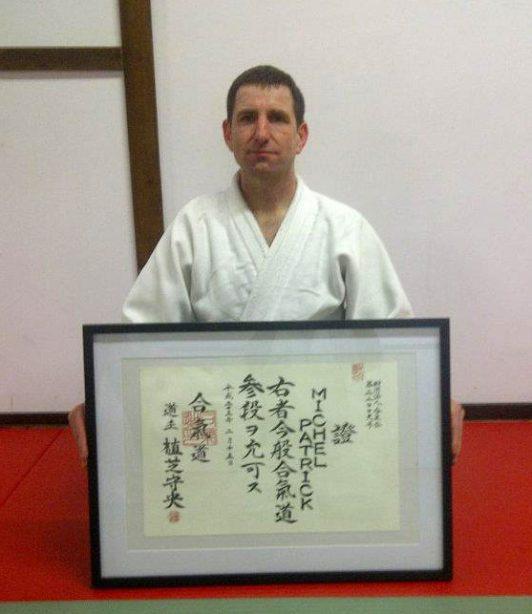 Sensei Patrick Michel - Instructeur Aikido Aikikai