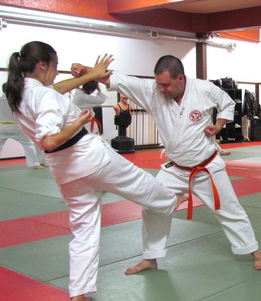 Dojo du Centre d'arts martiaux Larry Foisy