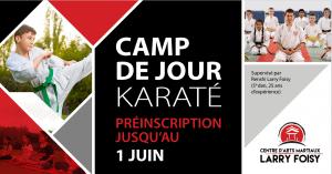Camp de jour - Karaté ShorinjiRyu - Karaté Sherbrooke
