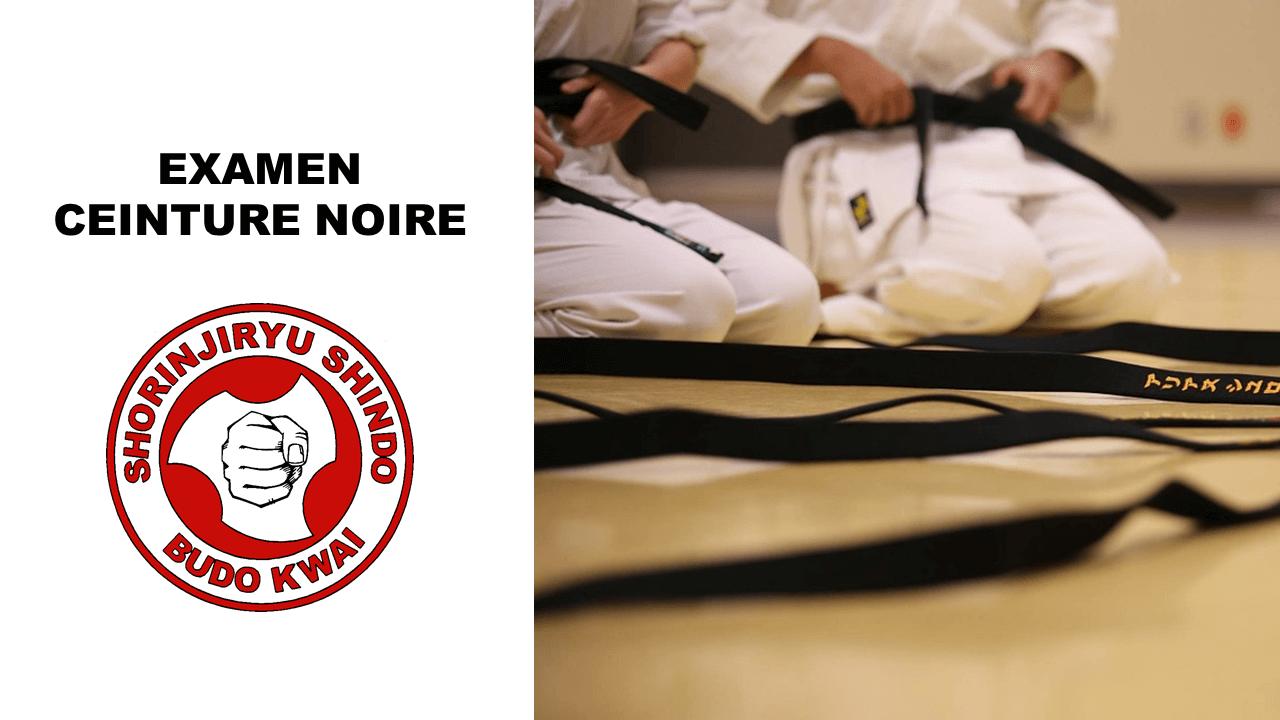 Examen ceinture noire Shorinjiryu Shindo
